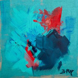 Rouge dans le Bleu